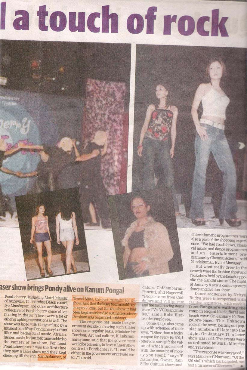 Indian Express on Shopping festival - 01